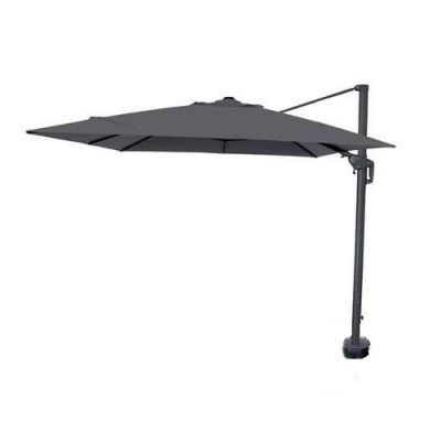 NOVA Galaxy 4m x 3m Round LED Cantilever Parasol with Lights (Base Included)