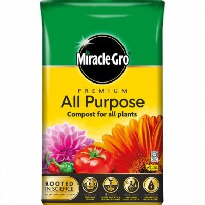 Miracle-Gro Premium All Purpocse Compost - 50 litre Bag