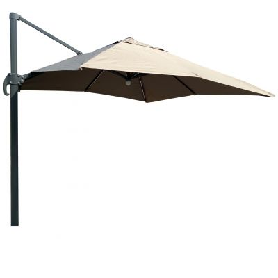 ENJOi Roma 3 x 3m Cantilever Taupe with Base