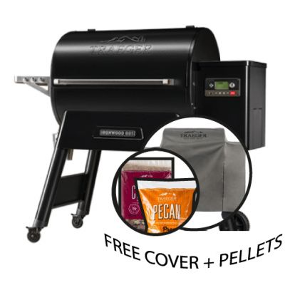 Traeger Ironwood D2 885 & Free Cover