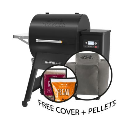 Traeger Ironwood D2 650 & Free Cover