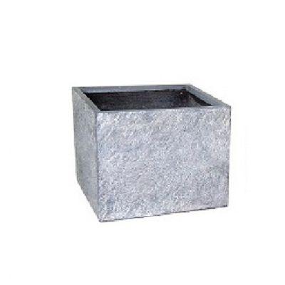 Arizona Square Washed Grey Pot
