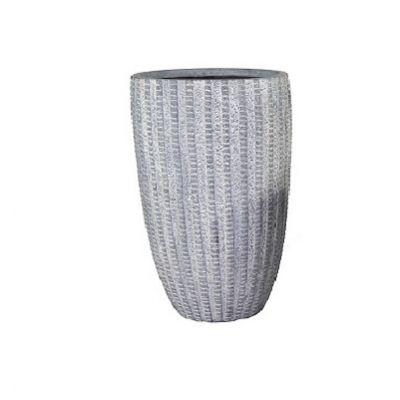 Arkansas High Washed Grey Vase
