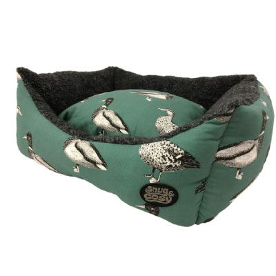 Snug & Cosy Rectangular Bed Duck Print