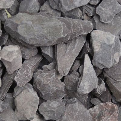 Meadow View Plum Slate Chippings 40mm