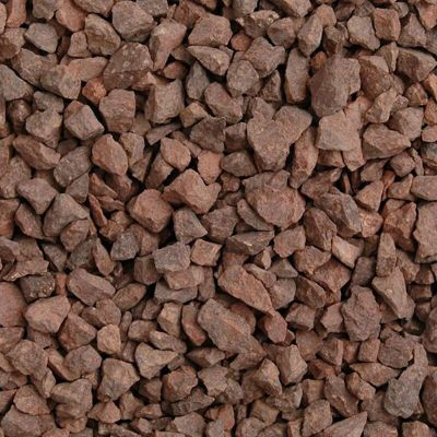 Meadow View Red Granite Chippings 14mm