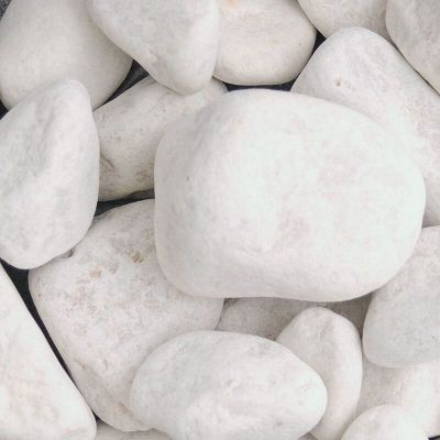 Meadow View White Cobbles 40 90mm