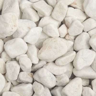 Meadow View White Pebbles 20 40mm
