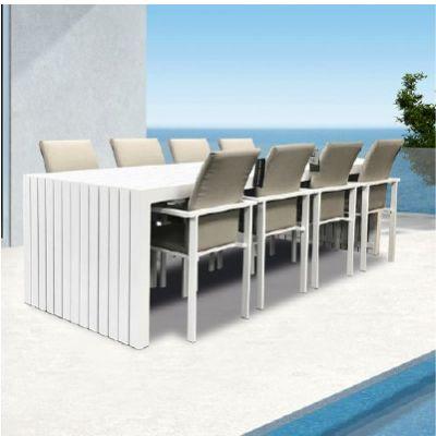 Westminster Design/Edge Rectangle 8 Seat Dining Set