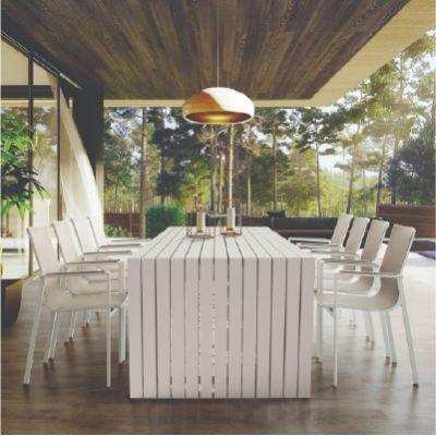 Westminster Design/Mirage 6 Seat Rectangle Dining Set