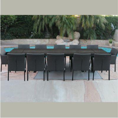 Westminster Ocean/Mirage Extending 12 Seat Dining Set
