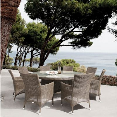 Westminster Valencia Oval 8 Seat Dining Set