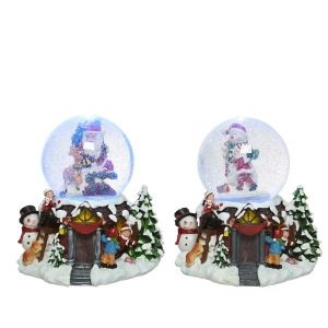 LED Snow Globe   Colour Changing