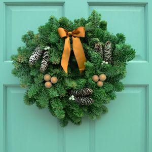 Winter Glow Wreath