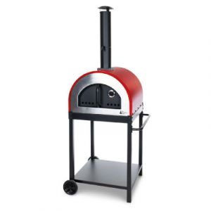 Alfresco Chef Naples Red Oven