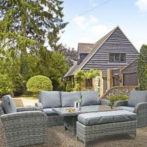 ENJOi Bay Grey 3 Seater Lounge Set