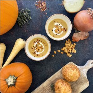 Try our delicious Pumpkin Soup this Halloween